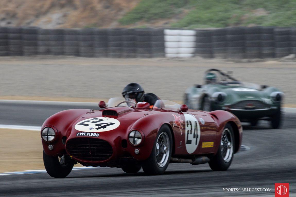 Peter Giddings-1953 Lancia D24/5