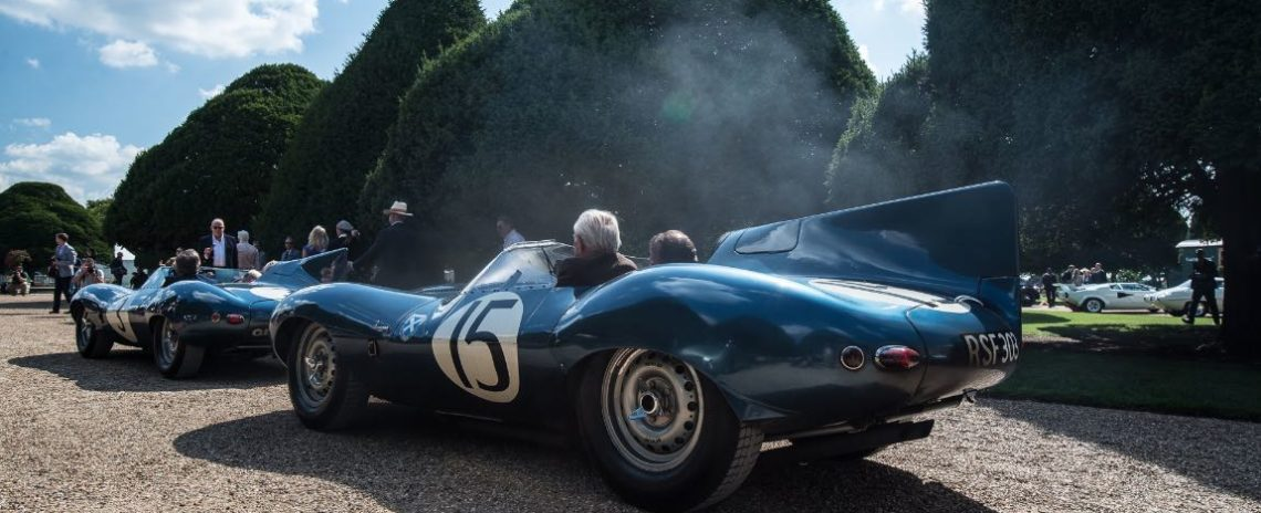 Ecurie Ecosse Jaguar D-Type XKD 603 finished second overall at the 24 Hours of Le Mans in 1957