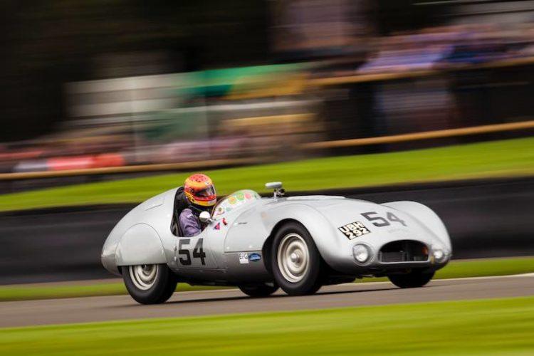 Chris Ward in the Cooper-Jaguar T33