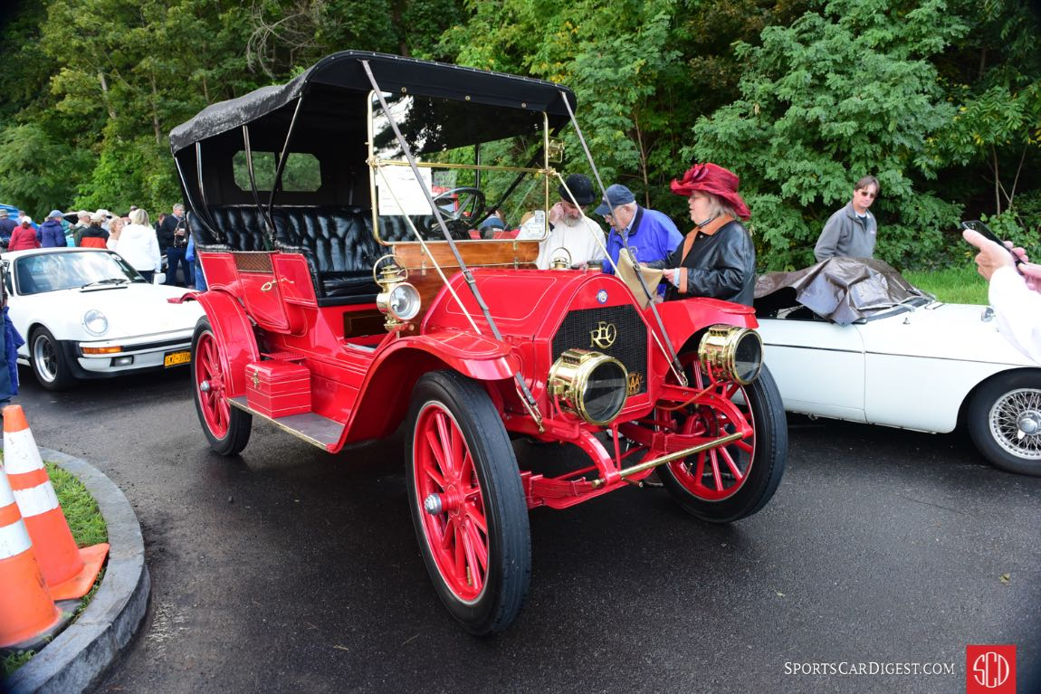 1911 Reo received a Honorable Mention in the Concours.