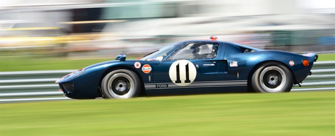 Richard Attwood- 1966 Ford GT40.