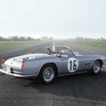 Ferrari California Spider and Jaguar C-Type Offered