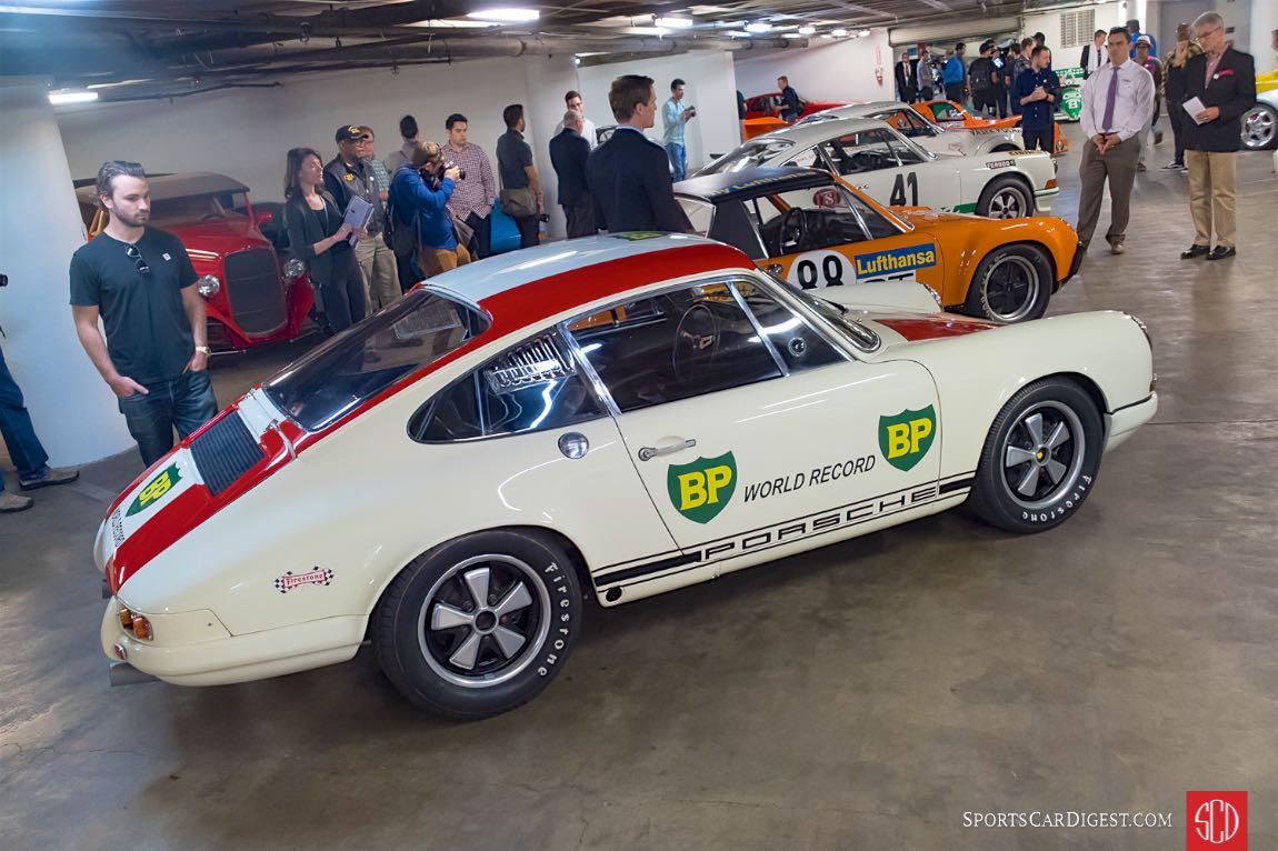 """1967 Porsche 911 R S/N118 99 001R """"World Record Monza"""""""