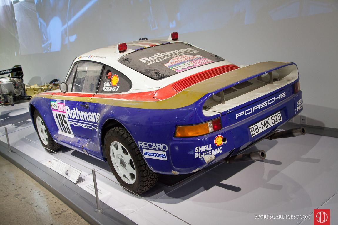 """1985 Porsche 959 """"Paris-Dakar"""" Chassis #010014"""