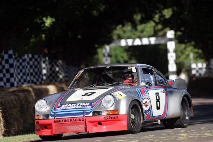 MARTINI Racing Porsche 911 Carrera RSR No. 8