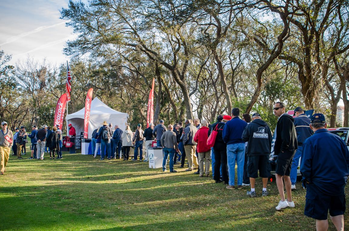 Cars and Coffee at the 2018 Amelia Island Concours