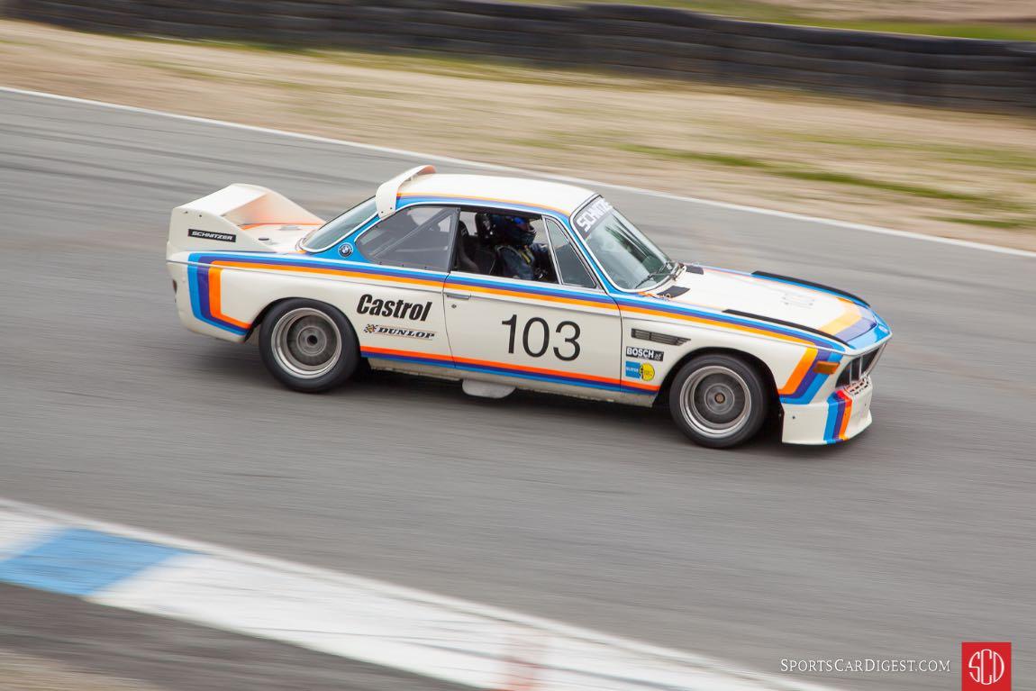 Thor Johnson - 1974 BMW CSL 3.5