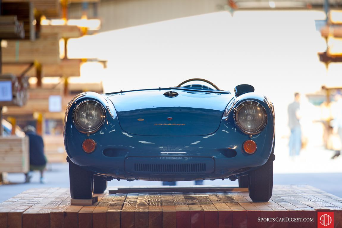Porsche 550 Spyder, owned by Don Murray