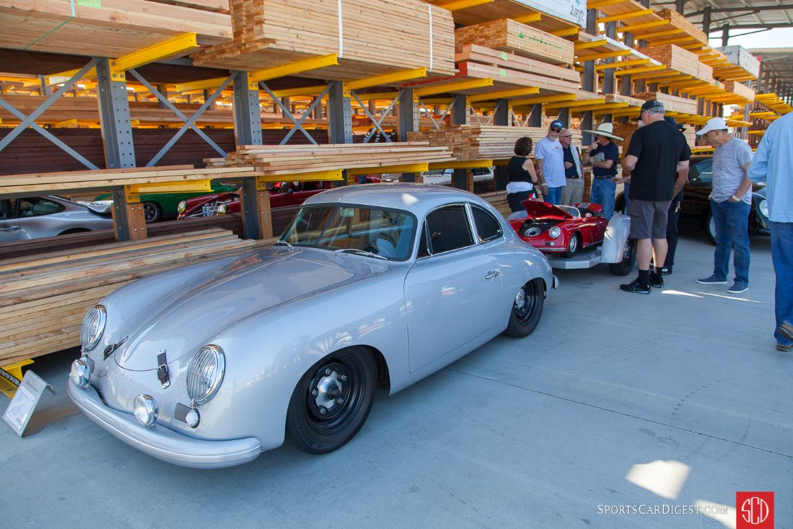 Rod Emory's 1955 Porsche 356 Outlaw Coupe