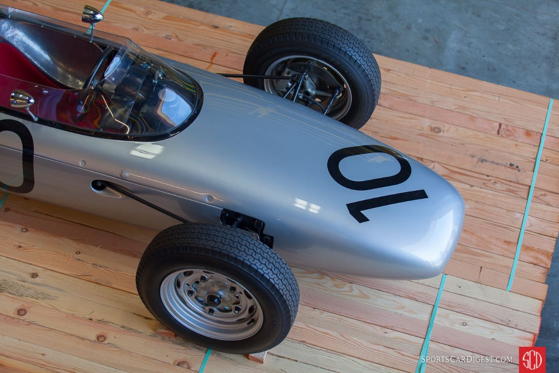 1962 Porsche Type 804 F1 race car