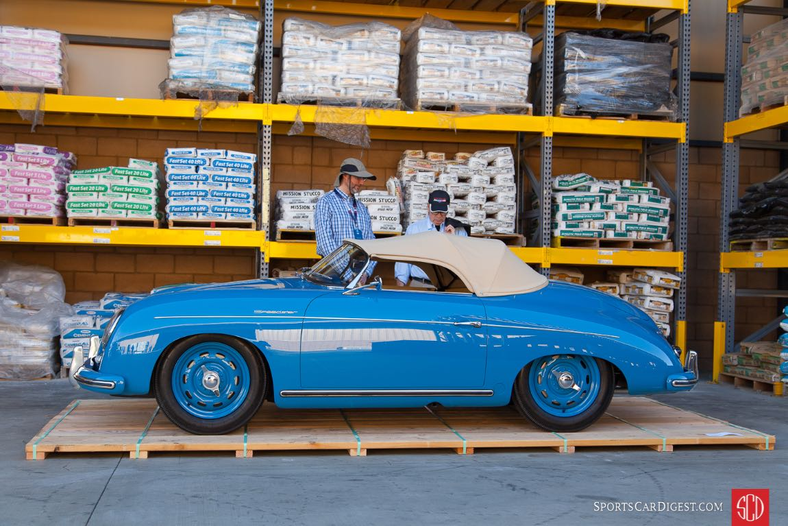 Blue 356 Speedster