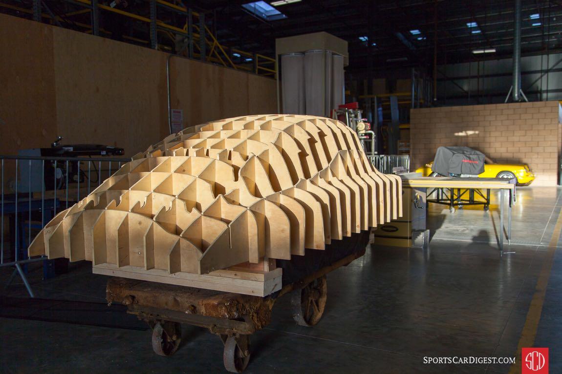 Wooden buck at Luftgekühlt 5