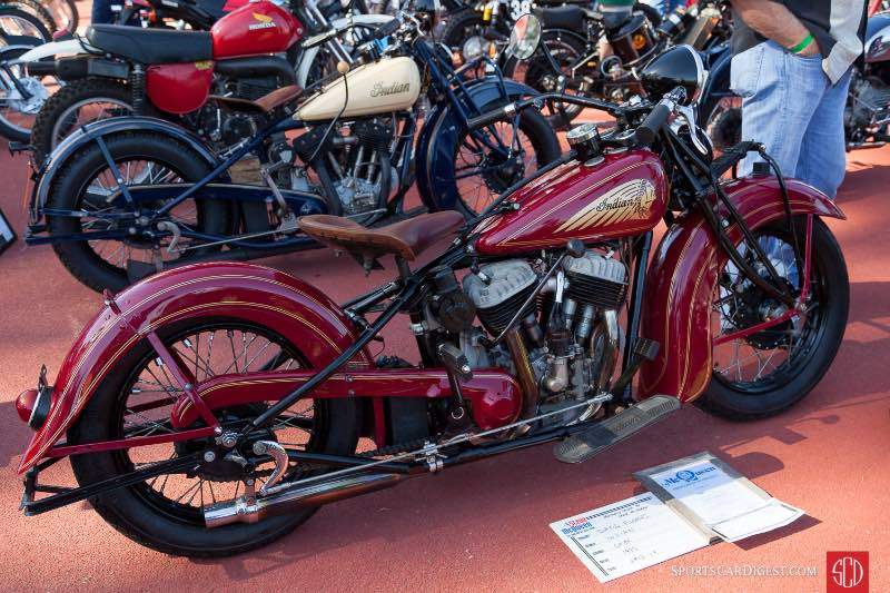 1935 Indian Chief previously owned by Steve McQueen