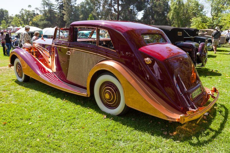 1937 Rolls Royce Phantom III Coach by Freestone & Webb