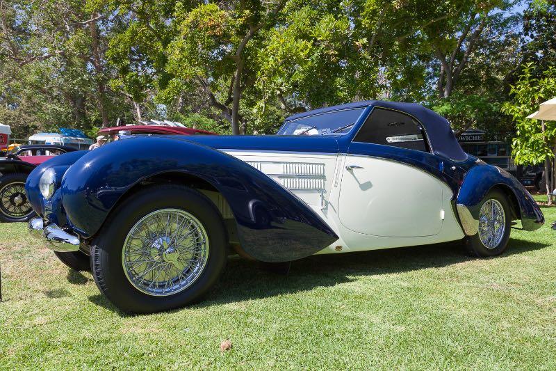 1939 Bugatti Aravis - Peter & Merle Mullin