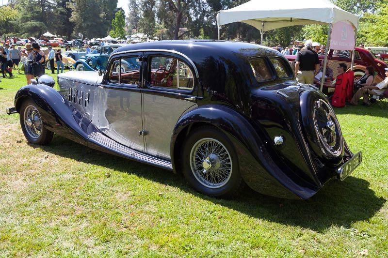 1936 MG Saloon
