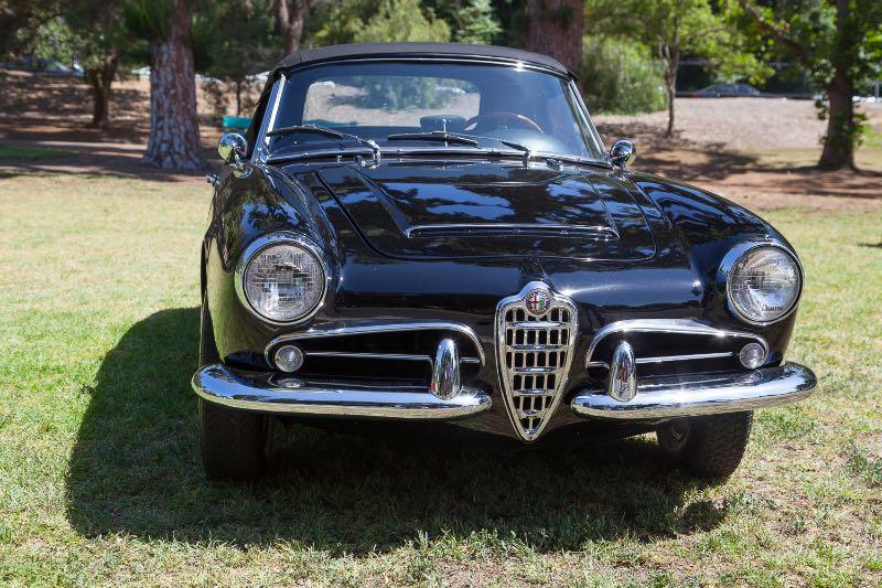 1963 Alfa Romeo Gielia Spider
