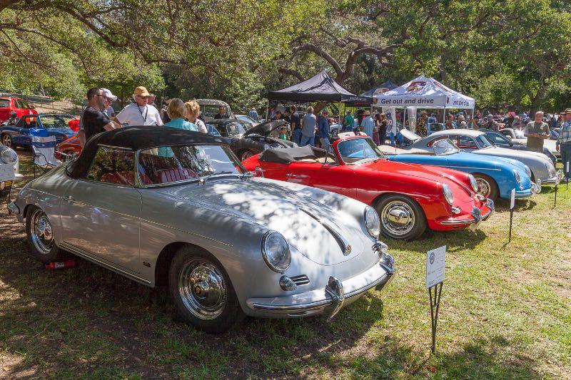 1962 Porsche 356 Twin Grill Super 90, 1964 356 C Cabriolet, 1957 356 Speedster
