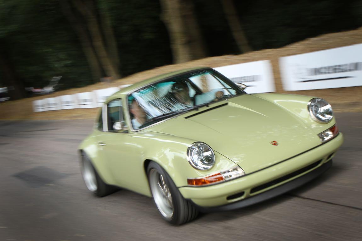 Porsche 911 by Singer (photo: Adam Beresford)