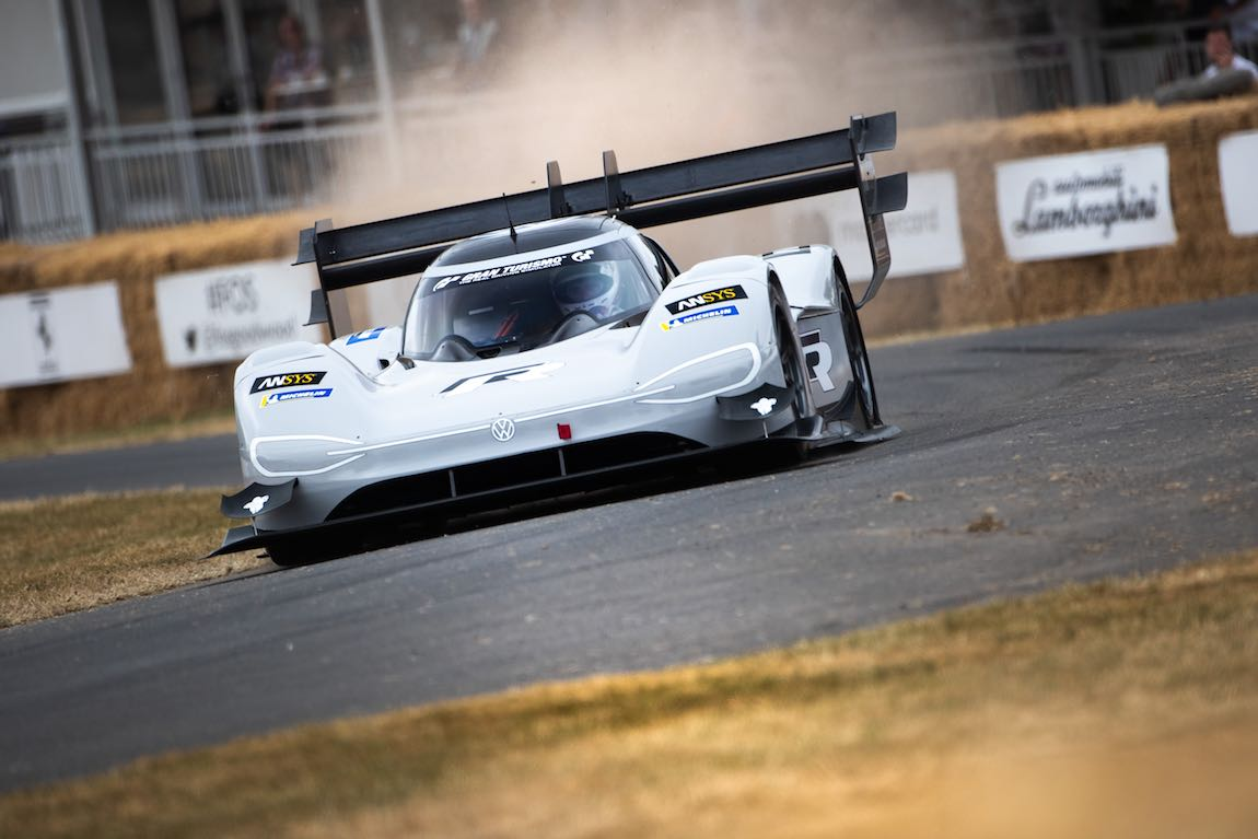Volkswagen I/D R Pikes Peak electric car set a new outright record at Pikes Peak earlier in the year (photo: Jayson Fong)