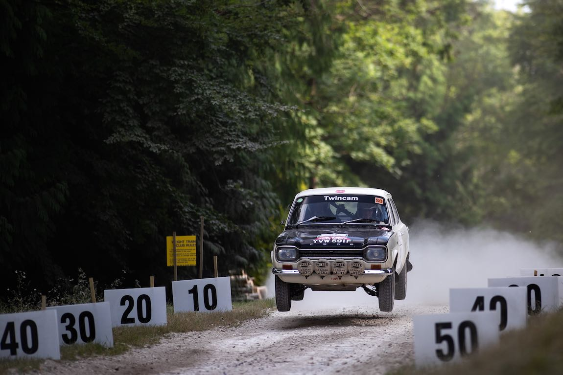 Ford Escort Rally (photo: Nick Dungan)