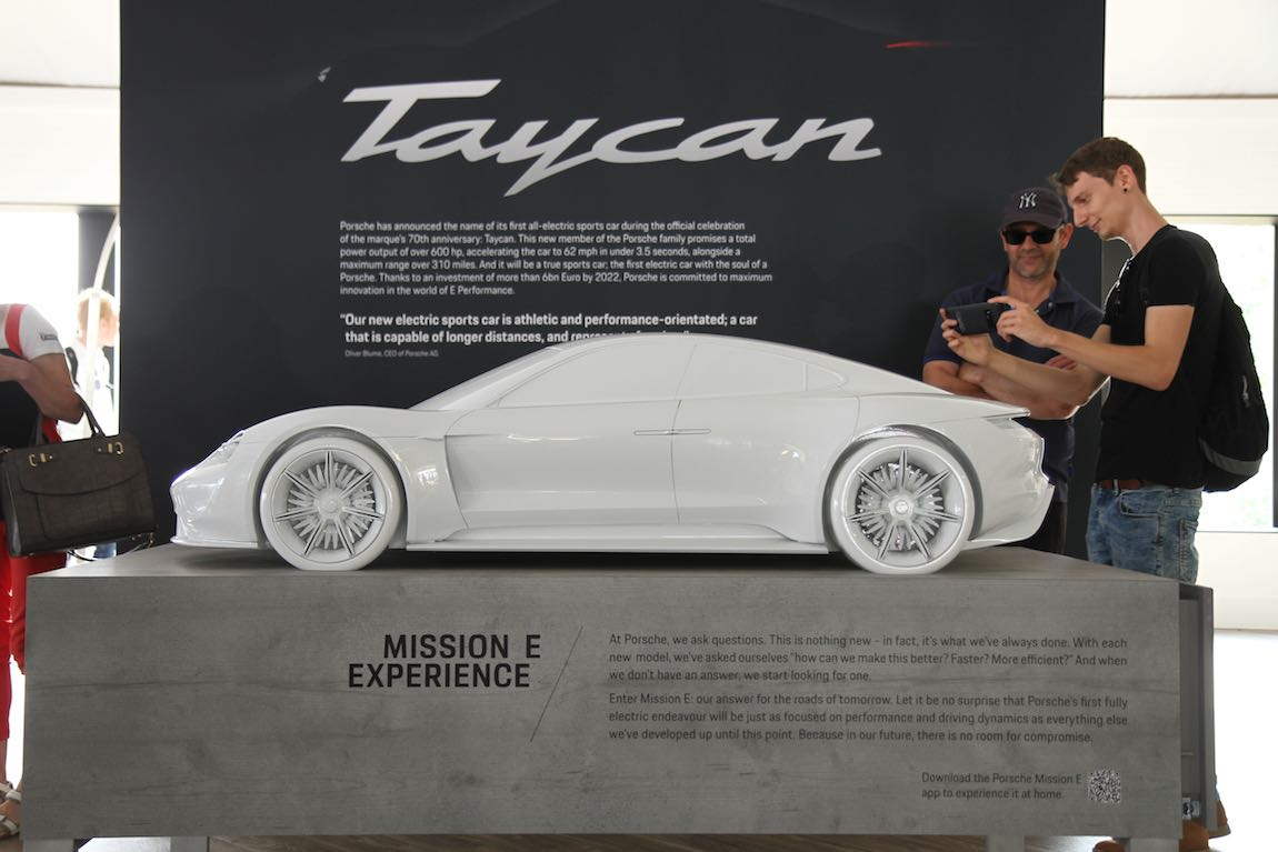 Porsche Taycan Concept (photo: Adam Beresford)