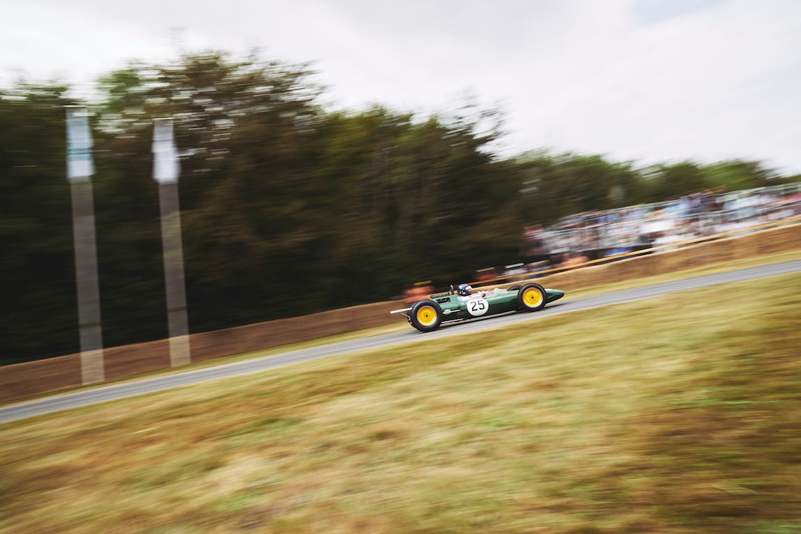 Jim Clark's World Championship winning Lotus 25 (photo: Nigel Harniman)