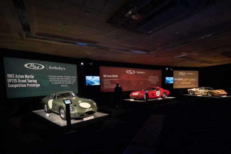 2018 RM Sotheby's Monterey Auction