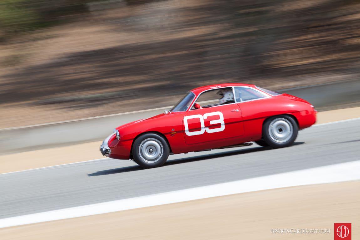 Tommy Trabue - 1960 Alfa Romeo Sprint Zagato
