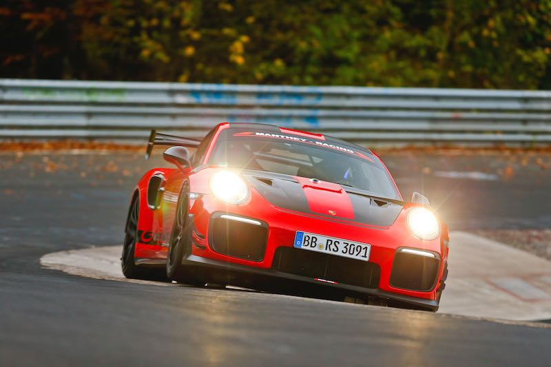Porsche Gt2 Rs Mr Sets Road Legal Nurburgring Record