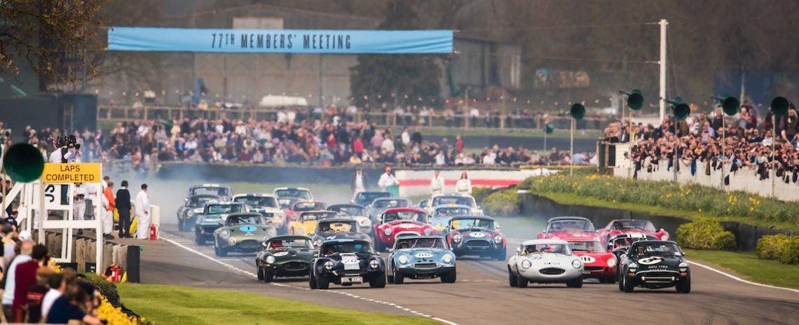 Start of the Graham Hill Trophy for closed-cockpit GT cars and prototypes in the spirit of the RAC TT races, 1960-64 - Photo: Drew Gibson