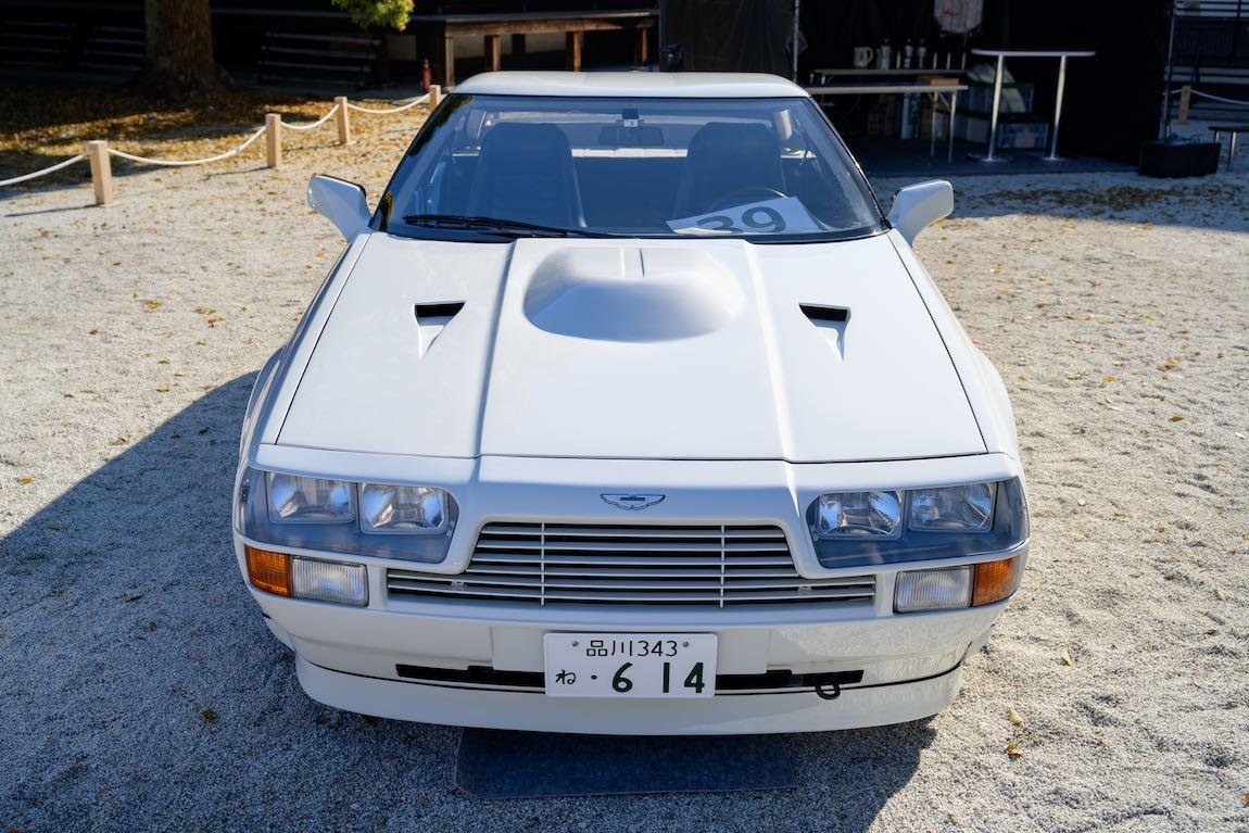 1986 Aston Martin V8 Vantage Zagato Hidetomo Kimura Japan Modern Class Winner Sports Car Digest The Sports Racing And Vintage Car Journal