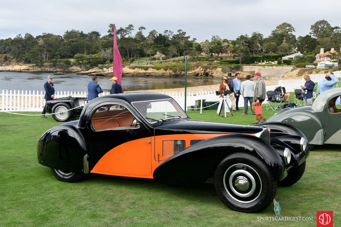 1936 Bugatti Type 57S Atalante Coupe