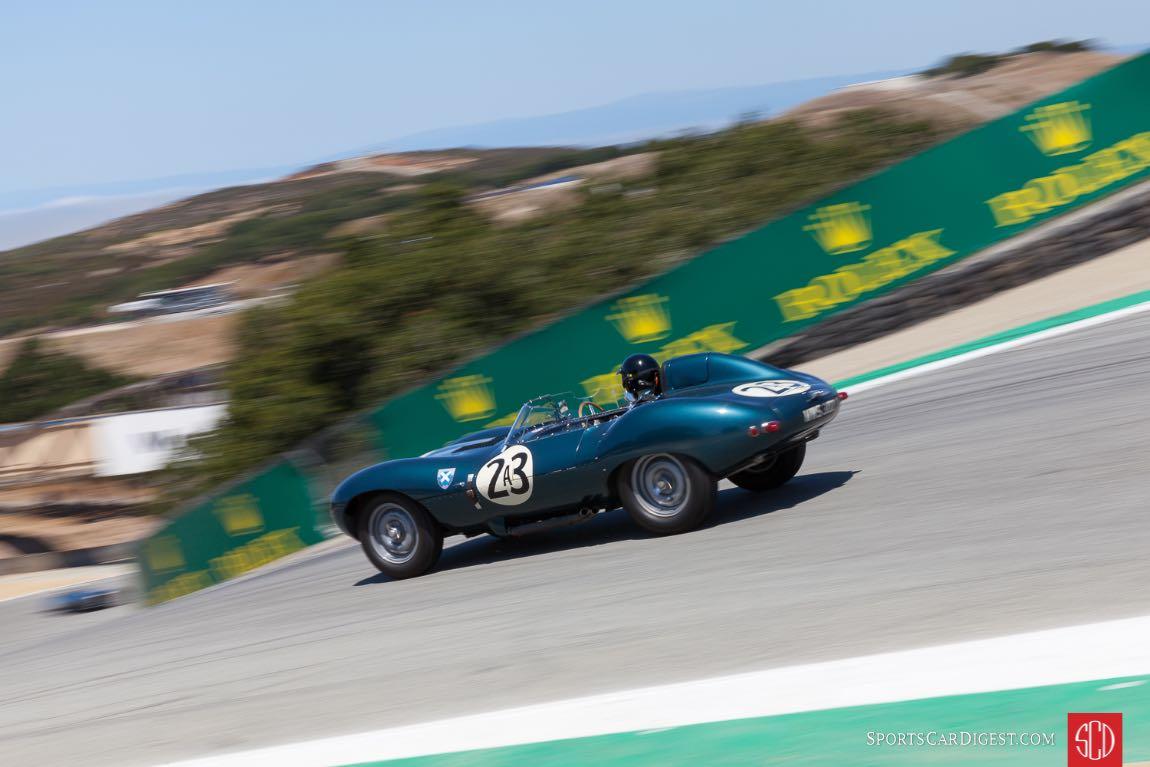 1955 Jaguar D-Type Laguna Seca