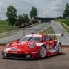 Porsche 911 RSR in the Coca-Cola Livery