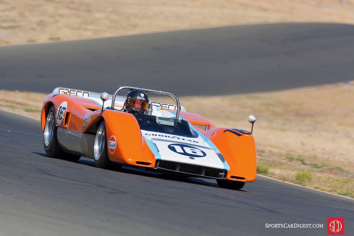 Kevin O'Connor - 1970 McLaren M8C