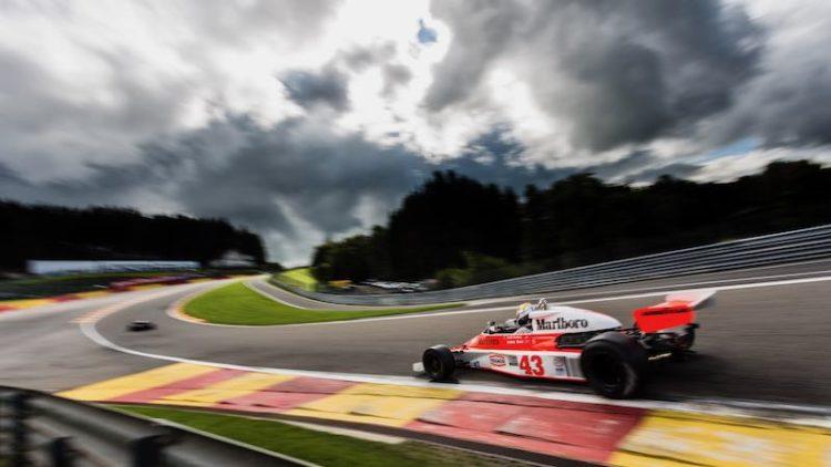 McLaren M23 Formula 1 Spa Francorchamps