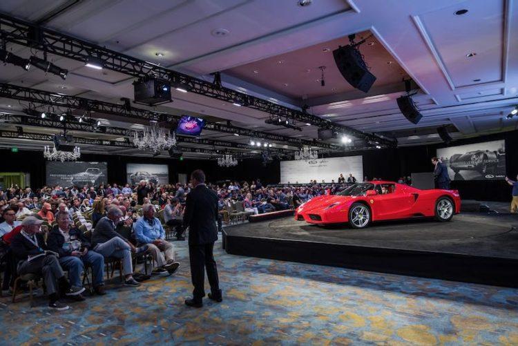 Ferrari Enzo at the RM Sotheby's Amelia Island Auction