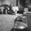 John Shakespeare Bugatti garage