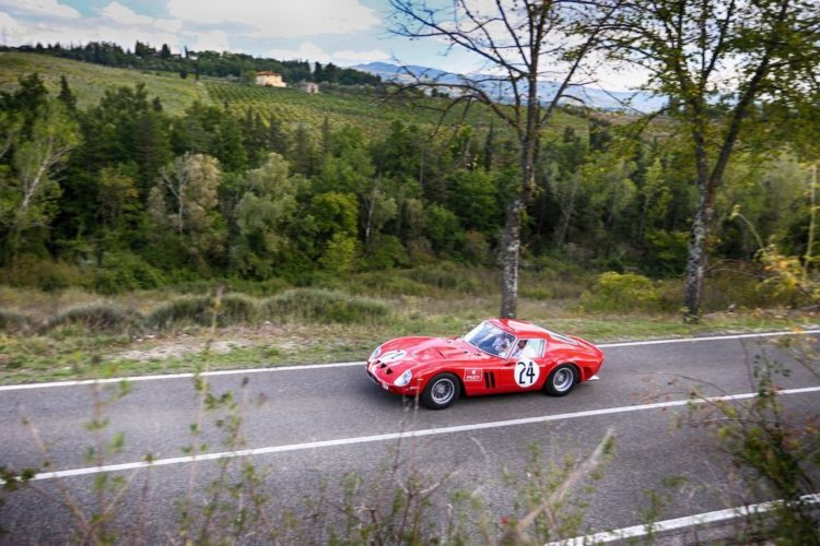 Red Ferrari GTO 250