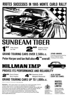 Sunbeam Tiger Racing