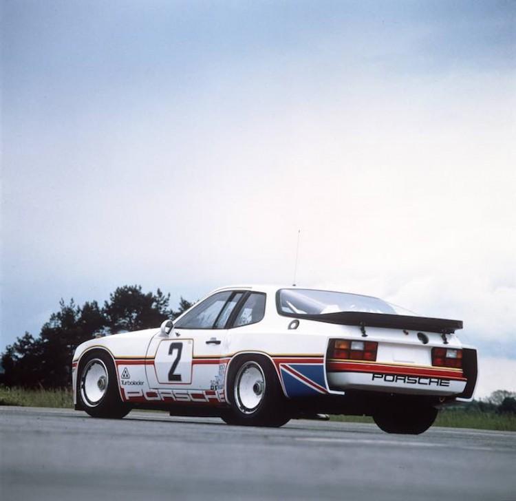 Porsche 924 back