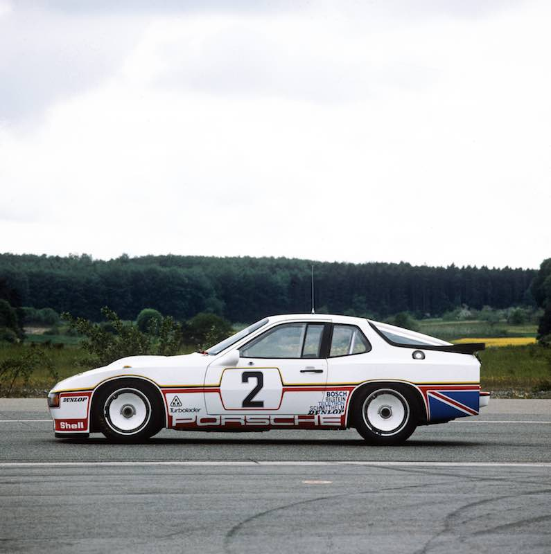 number 2 porsche 924 Carrera