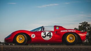 Side Ferrari 206 SP