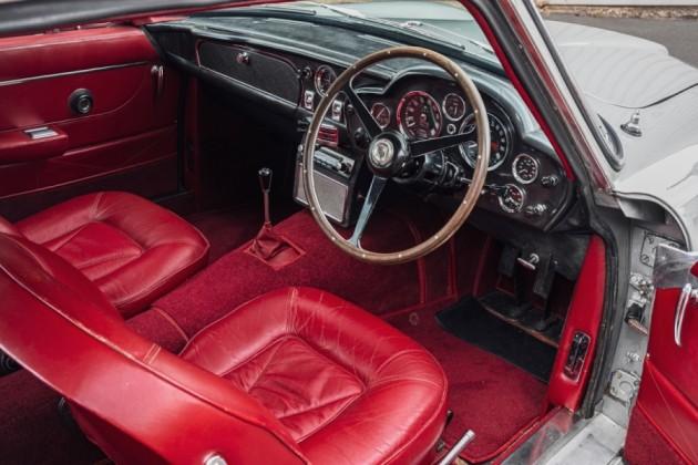 interior of Aston Martin DB6