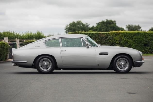 side profile of Aston Martin DB6