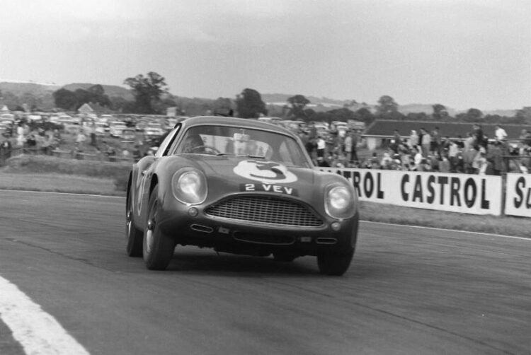 Aston Martin DB4GT Zagato for the Essex Racing Team