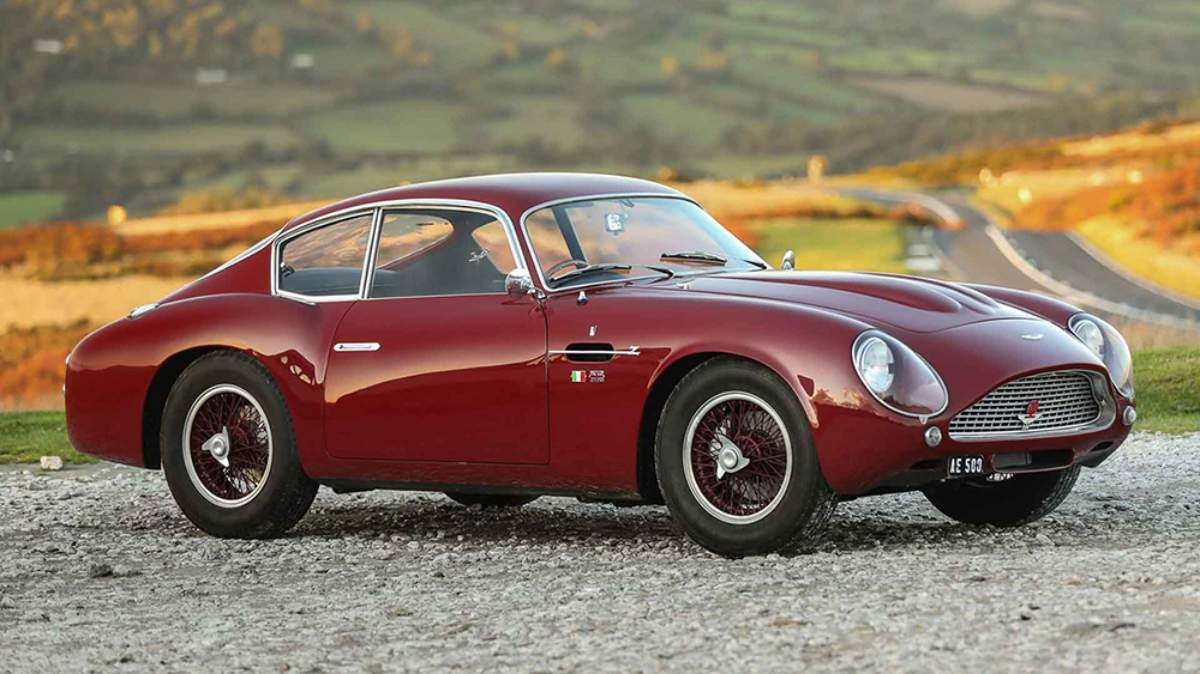 Rare Aston Martin Db4 Gt Zagato Heading To Auction