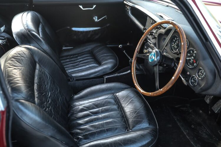 Inside the aston martin db4 gt Zagato