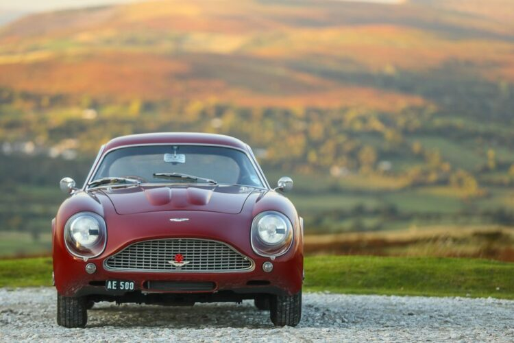 Front of DB4 GT Zagato